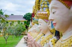 Thailändsk traditionsman Angel Sawasdee Arkivbilder