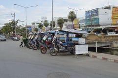 Thailändsk tuktukbil Arkivbild