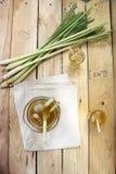 Thailändsk växt- drink för Lemongrass Arkivfoton