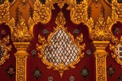 Thailändska Art Miirror Royaltyfri Fotografi