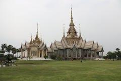 Thailändska Art White Tample Fotografering för Bildbyråer