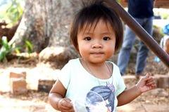 Thailändska barn Arkivbilder