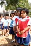 Thailändska barn Arkivfoto