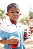 Thailändska barn Arkivbild