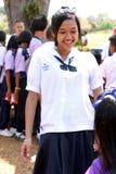 Thailändska barn Arkivfoton
