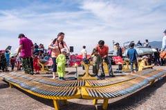 Thailändska barns dag Arkivbild