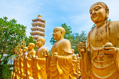 Thailändska Buddha Fotografering för Bildbyråer