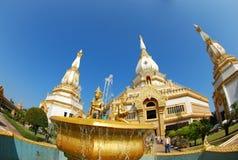 Thailändska Chetiya på roied Royaltyfri Foto