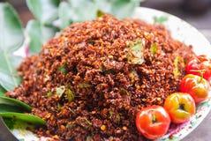 Thailändska Chili Salt Royaltyfria Bilder