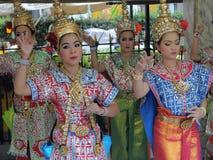 Thailändska dansare Arkivfoton