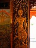 Thailändska Dvarapala arkivfoto