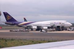 Thailändska flygbolag Arkivbilder