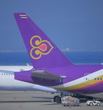 Thailändska flygbolag Arkivbild