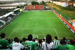 Thailändska fotbollsfan Fotografering för Bildbyråer