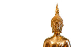 Thailändska guld- Buddhabilder Arkivbilder