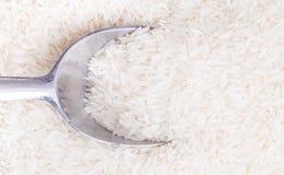 Thailändska Hom Mali White Rice Royaltyfri Foto