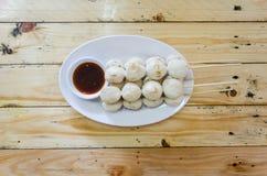 Thailändska köttbollar Fotografering för Bildbyråer