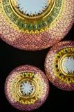 Thailändska modellporslinrosa färger Arkivbild