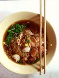 Thailändska noodls Royaltyfri Foto