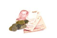 Thailändska pengar Arkivbild
