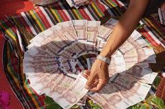 Thailändska pengar Arkivbilder