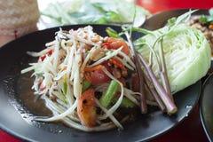 Thailändska Somtum Royaltyfria Bilder
