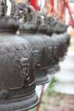 Thailändska stilklockor Royaltyfria Bilder