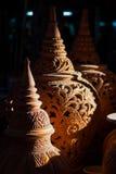 Thailändska stillergods på Ko Kret i det Nonthaburi landskapet, Thailand Arkivfoton