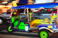 Thailändska Tuk - tuk Royaltyfria Bilder