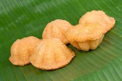Thailändskt bageri Kanom Farang Arkivfoton