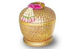 Thailändskt benjarongporslin Arkivfoton