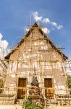 Thailändskt beskydd för buddistisk tempel Arkivbilder