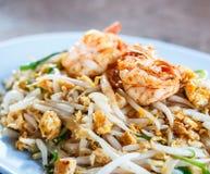 Thailändskt block; Thailändsk kokkonstmat Arkivbilder