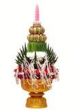 Thailändskt bröllop Arkivfoton
