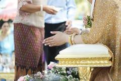 Thailändskt brölloptema Arkivfoton