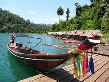 Thailändskt fartyg Royaltyfri Bild
