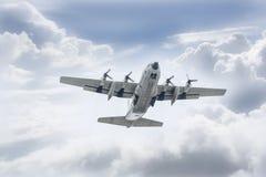Thailändskt flygvapen C-130 Arkivfoto