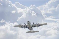 Thailändskt flygvapen C-130 Royaltyfria Foton