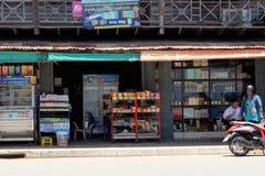 Thailändskt Geocery lager Arkivbilder
