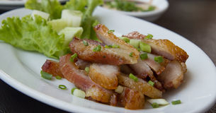 Thailändskt grisköttgaller Arkivfoto