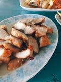 Thailändskt griskötthalsgaller fotografering för bildbyråer