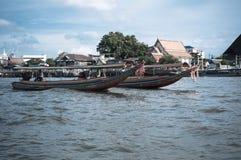 Thailändskt hastighetsfartyg Arkivfoto