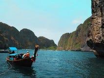 Thailändskt hav, andamanhav Arkivfoto