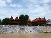 Thailändskt hus Royaltyfri Foto