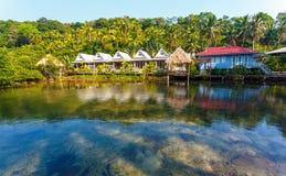 Thailändskt hus Arkivfoton