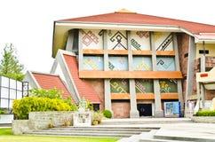 Thailändskt infött kulturmuseum Arkivbilder