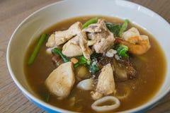 Thailändskt - kinesisk mat: Arkivbilder