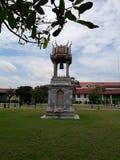 Thailändskt klockatorn royaltyfri fotografi