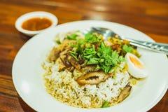 Thailändskt kokt grisköttben Arkivbild
