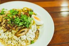 Thailändskt kokt grisköttben Arkivfoton